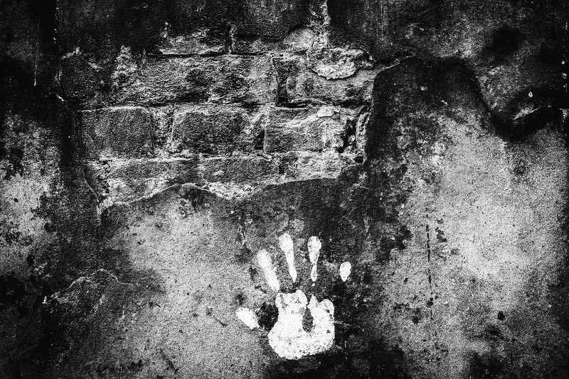 The handprint, Brickworks