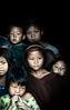 Konyak children