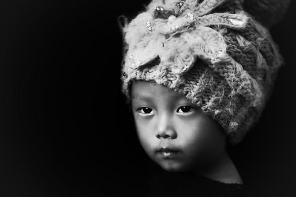 Baby face of Konyak, Nagaland