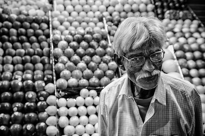 Fruit seller, Market, Dibrugarh