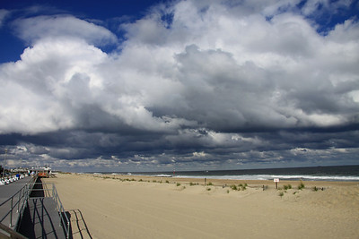 SeaGirt, most of this boardwalk was destroyed and rebuilt after Sandy