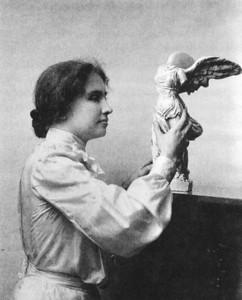 3 Helen Keller w- sculpture