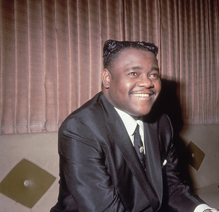 Legendary American jazz pianist and singer Fats Domino (Antoine Domino).    (Photo by Keystone/Getty Images)