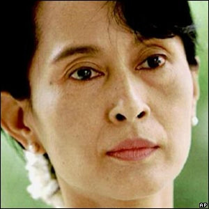 1 Aung San Suu Kyi 6