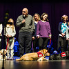 The NEADS 2016 fall graduating class ceremony at Monty Tech in Fitchburg opened with awarding diplomas for a program designed to get therapy dogs to kids on Sunday. Sentinel & Enterprise photo/Jeff Porter