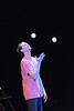 KELLY FLETCHER, REFORMER CORRESPONDENT -- Austin Smith performs a juggling act at NECCA's 10th annual Circus Spectacular fundraising show at Latchis Theater Friay night.