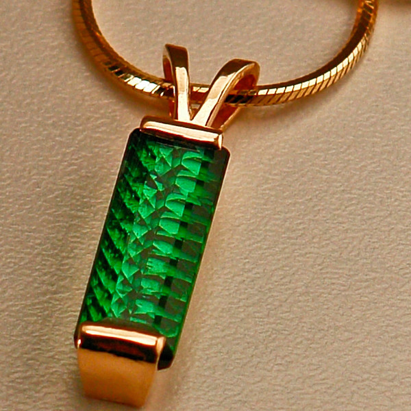 FANCY CUT TOURMALINE - 14K GOLD