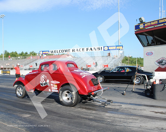 N.E.D. Dragging in the 50's 8-28-2016 NOSTALGIA CARS, PRO COMP, 7.0 PRO,