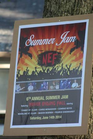 NEF Summer Jam June 2014