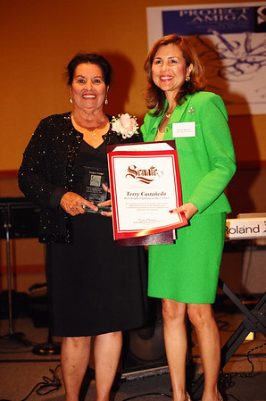 TERRY CASTANEDA HONORED @ LADY OF ANGELS CATHEDRAL
