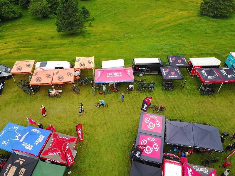 Landry's tent [credit: Bob J]