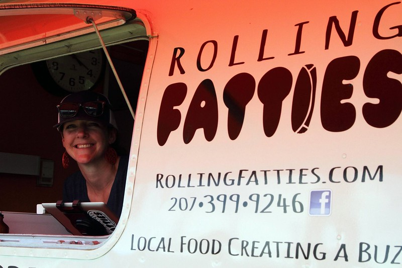 Bob earned a Rolling Fatties sticker for his over-the-top order [credit: NEMBAfest]
