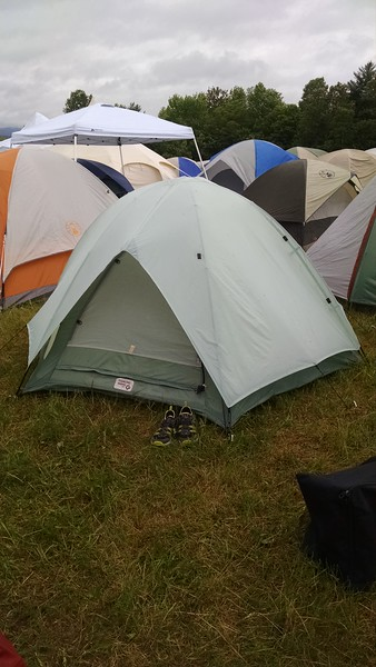 My home for the weekend