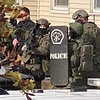 NEMLEC's SWAT team at a recent incident in Waltham involving an armed and barricaded male suspect