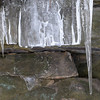 Princess Ledges Ice Formations