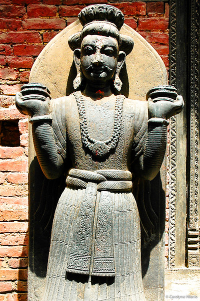 Stone Statue<br /> Bhaktapur Durbar Square<br /> Bhaktapur