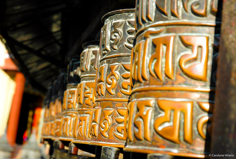 Prayer Wheels<br /> Swayambhunath (aka Monkey Temple)<br /> Kathmandu Valley