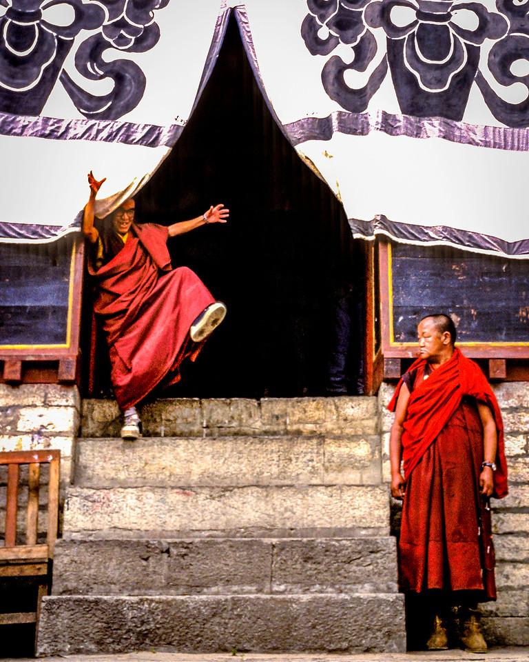 Jiving Monk, Tengboche monastery