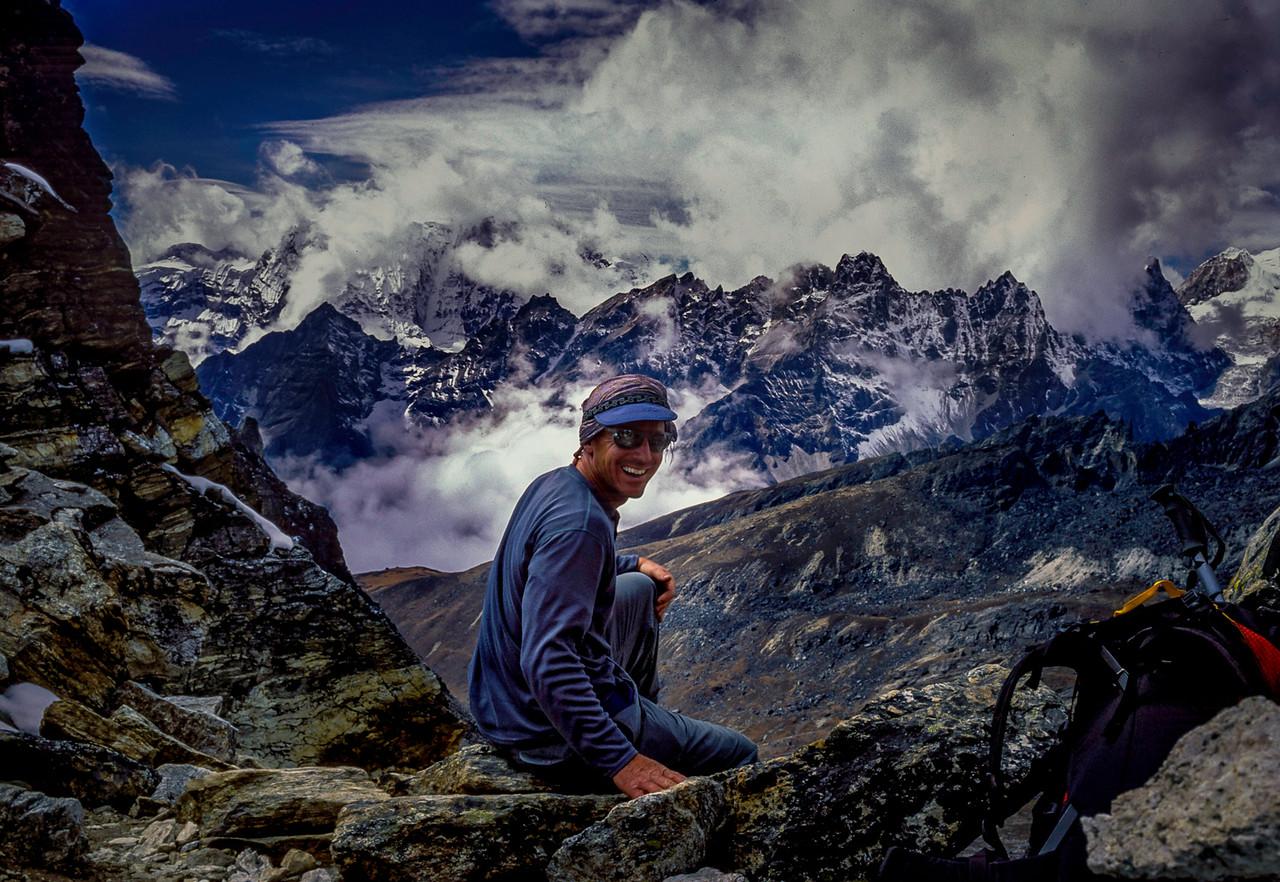 Pete Patterson on Renjo La pass