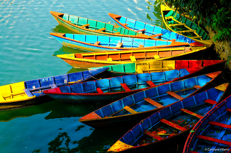 Boats of Phewa Lake<br /> Pokhara, Kaski District
