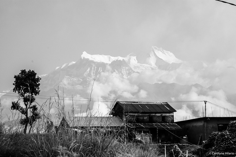 Annapurna Range from Pokhara<br /> Pokhara, Kaski District