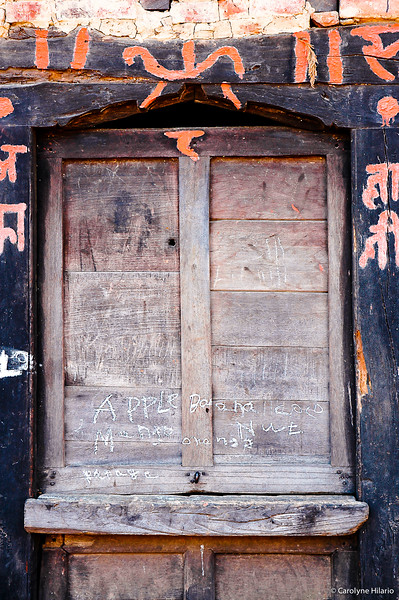 Fruit Stand, Closed for Business<br /> Bhaktapur