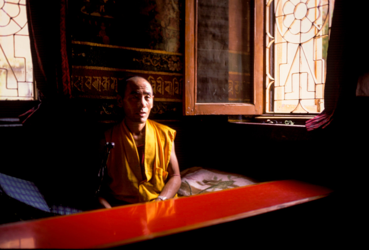 Temple Monk, Kathmandu