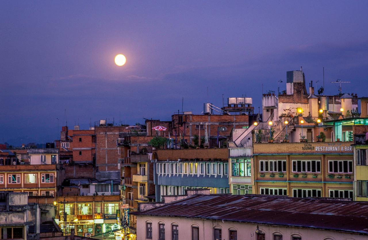 Kathmandu Moonrise
