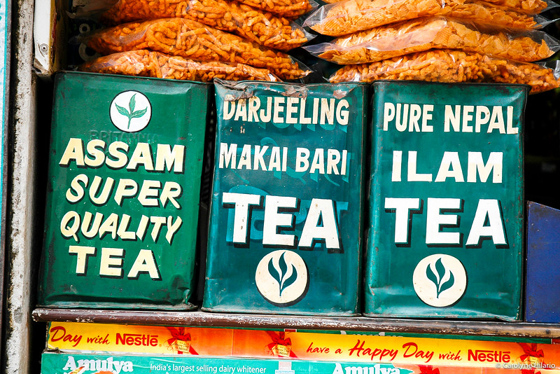 Canisters of Tea<br /> Kathmandu