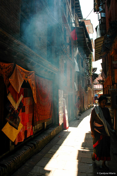 Market Alleyway<br /> Bhaktapur