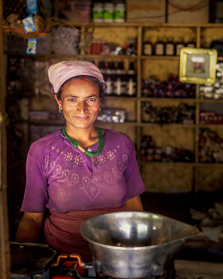 Shop Keeper, Pokhara