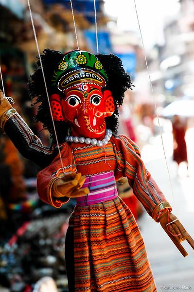 Nepali Durga Puppets <br /> Bhaktapur