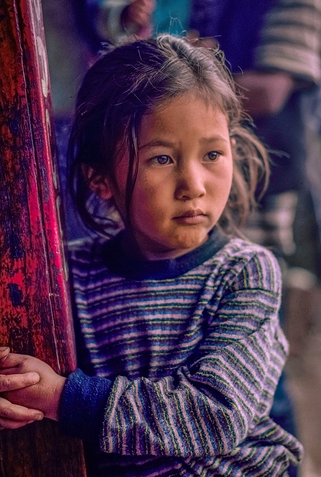 Girl in Striped Shirt, Goisankund