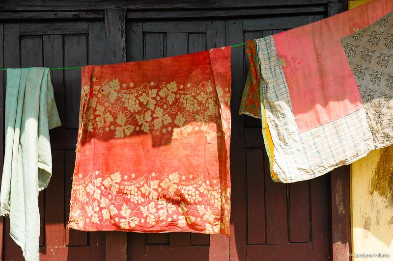 Linens Drying<br /> Bandipur, Tanahu District
