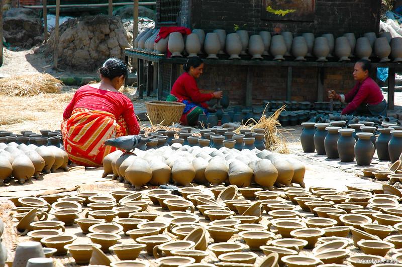 Potters' Square<br /> Bhaktapur