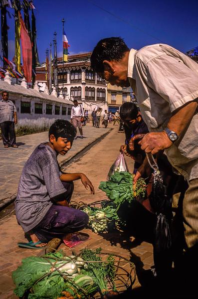 Veggie Seller, Kathmandu