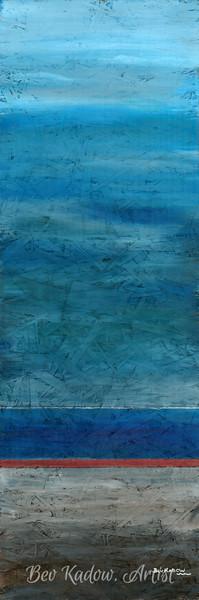 Blue 1/3 Triptych