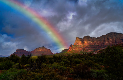 CLEARING SEDONA STORM