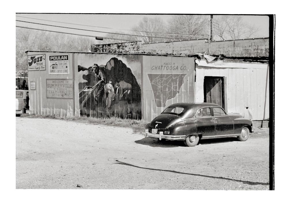 Packard, Route 27, Summerville, Georgia USA, Spring 1978