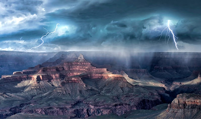 GRAND CANYON SPRING STORM