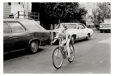 Learning to Ride, Chicago, Illinois circa 1976