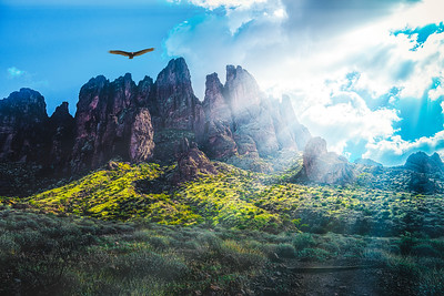 SOARING OVER THE SUPERSTITIONS