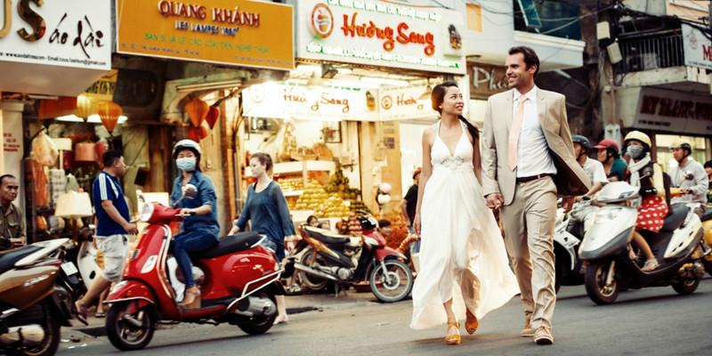 Street pics on the streets of Saigon.