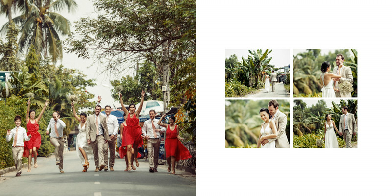 We headed outside of the wedding venue to finish the shoot off. Street stuff for destination weddings are always cool.