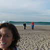 Nancy - 1st CVMM Swimmer in the water for 2010 at ZUMA BEACH!