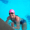 Jaime swims the 1-Hour Swim right before leaving for Chile and her 1/2 Ironman Race!