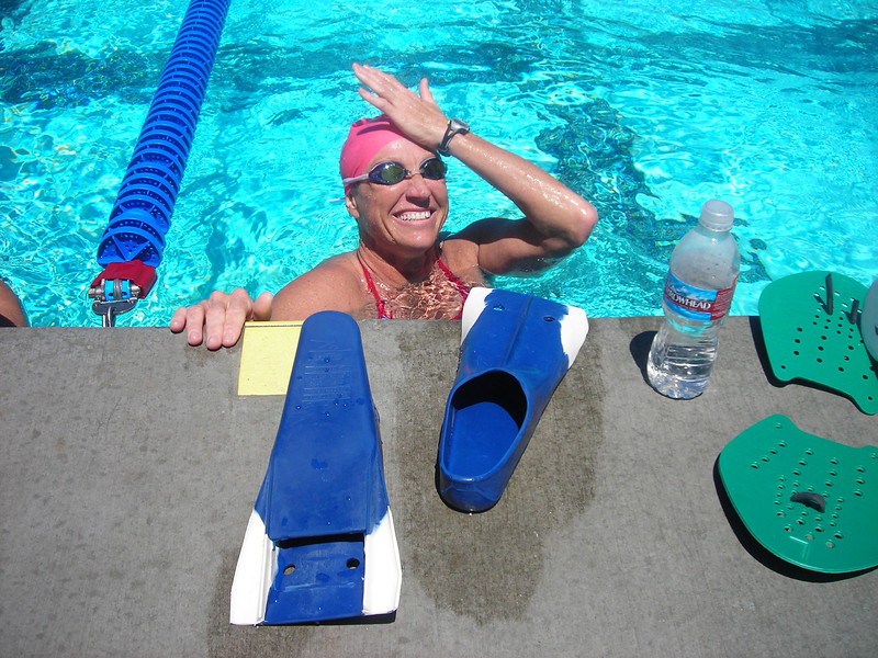 Yvette from Simi!<br /> (triathlete w/ the last name... Irons!)