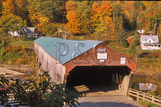 NH BATH COVERED BRIDGE 1 W