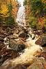 NH CONWAY WHITE MOUNTAINS APP TRAIL ARETHUSA FALLS OCTJH_MG_3334SSW