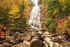 NH CONWAY WHITE MOUNTAINS APP TRAIL ARETHUSA FALLS OCTJH_MG_3375SSW